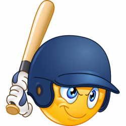 baseball clipart smiley face 7