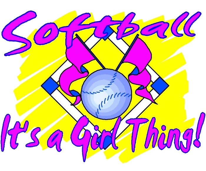 softbal its a girl thing
