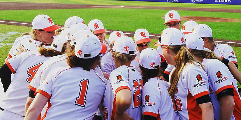 080916 nederlands team honkbal dames